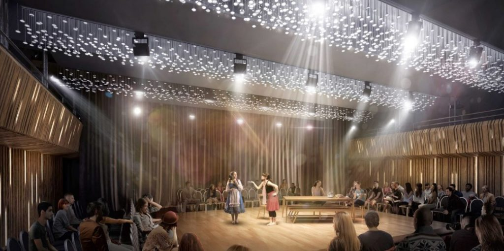 How transformed Waterlow Hall will look with new lighting system